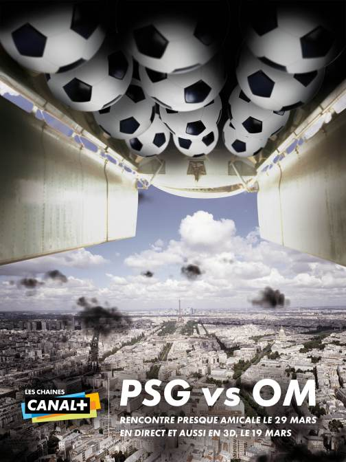 CANAL+ PRINT PSG OM