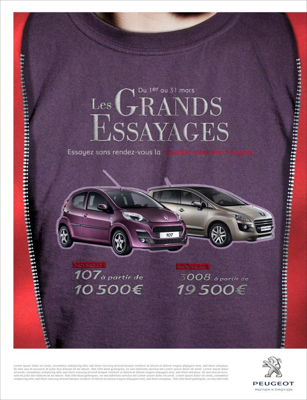 Peugeot Essayages 2