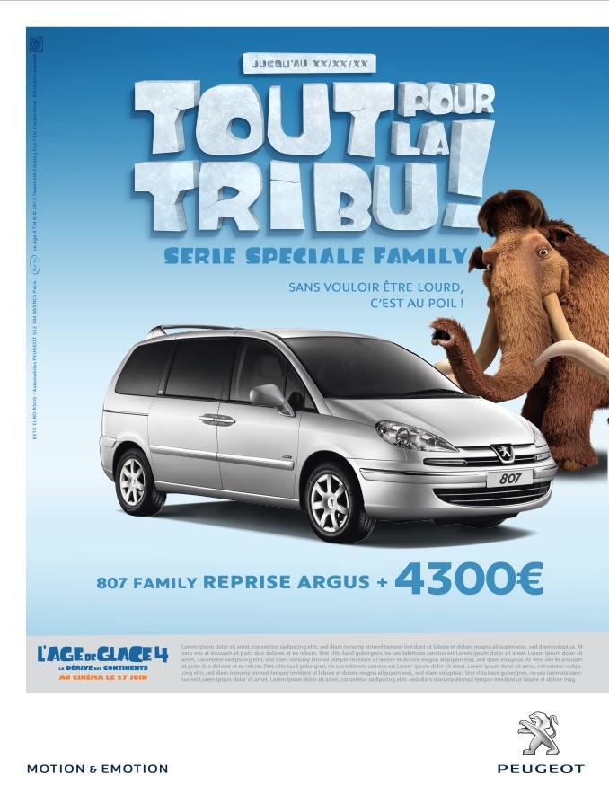 Peugeot Event Age de glace 5