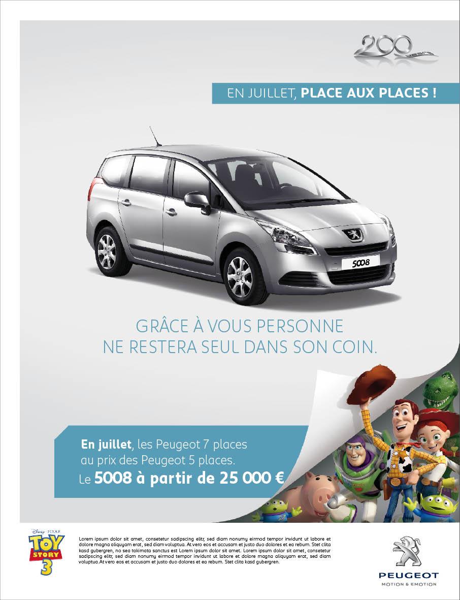 Peugeot Event Pixar 3