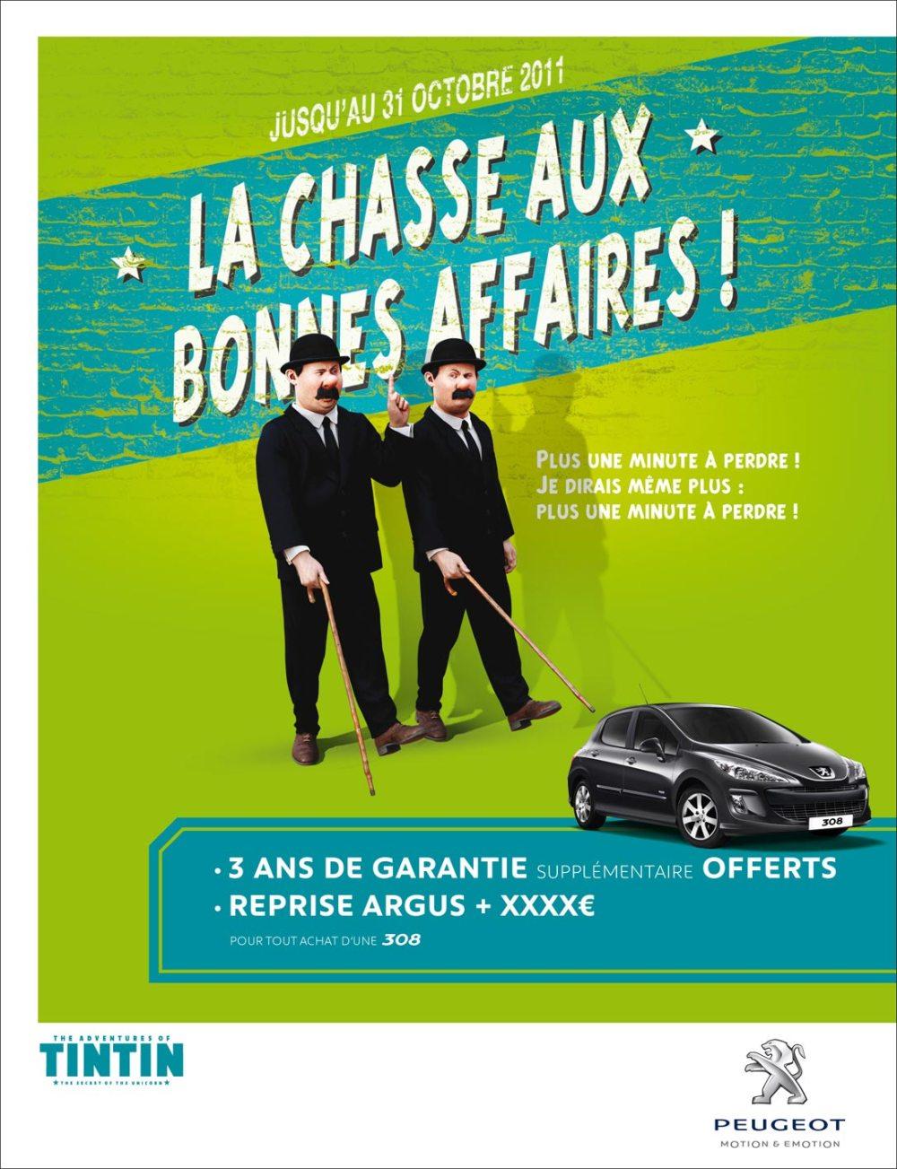 Peugeot Event Tintin 1
