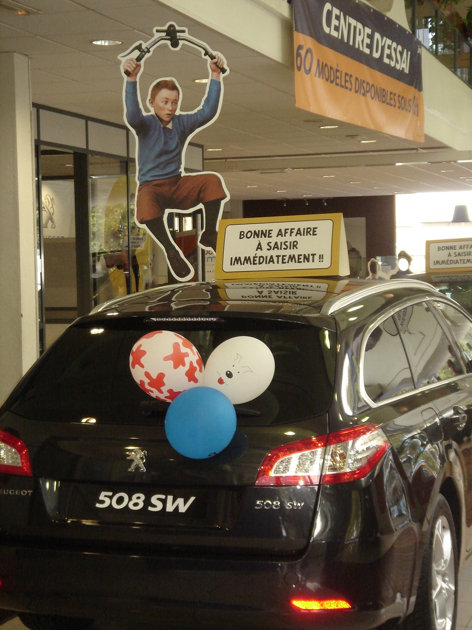 Peugeot Event Tintin 7