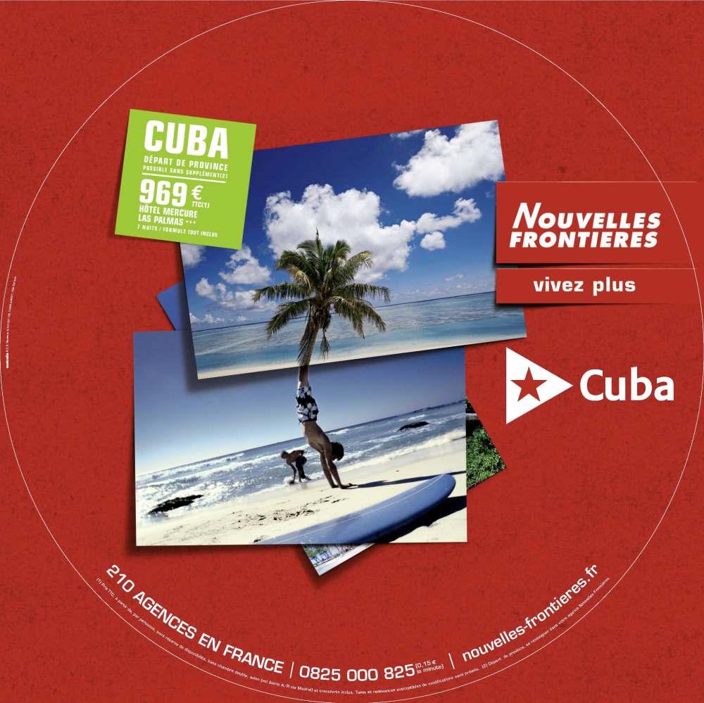 NOUVELLES FRONTIERES TABLE CUBA