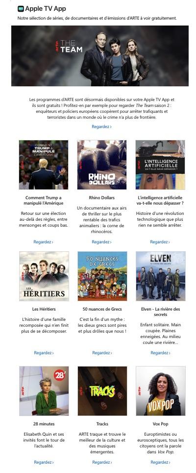 LE RÉDAC email Apple octobre
